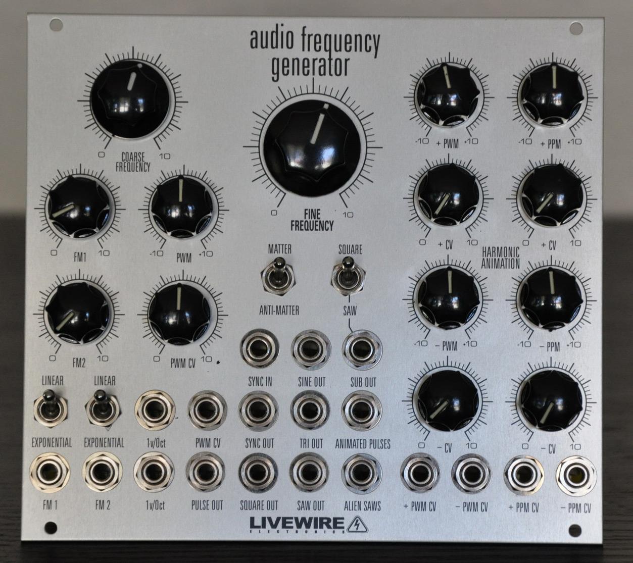 Audio Frequency Generator : A n l o g u e h v